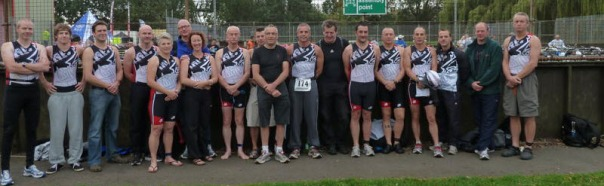 Image of club members at Brigg Sprint 2011