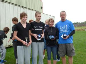 Image of the Grimsby Tri Winners at the Brigg Sprint 2011