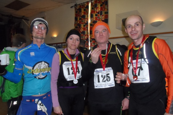 Osmotherley finish with fellow wolds vets and 'Thomas Crown'